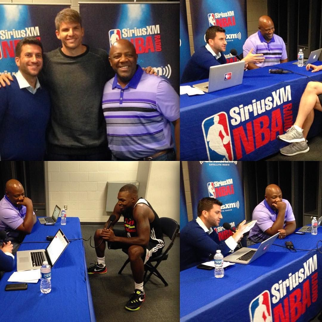 I love the NBA Nba, Training camp, Radio
