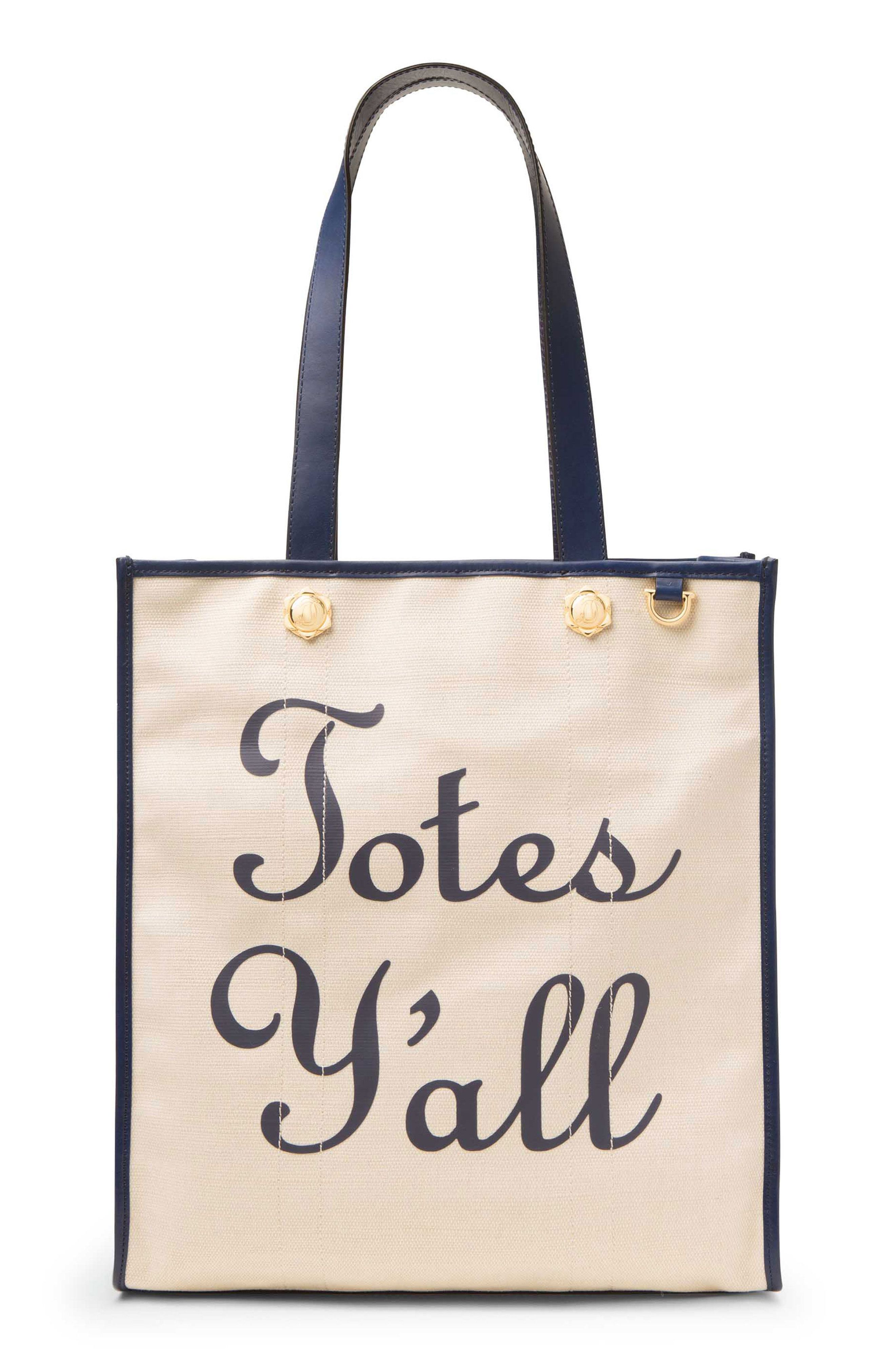 Totes Y'all Canvas Tote from Draper James