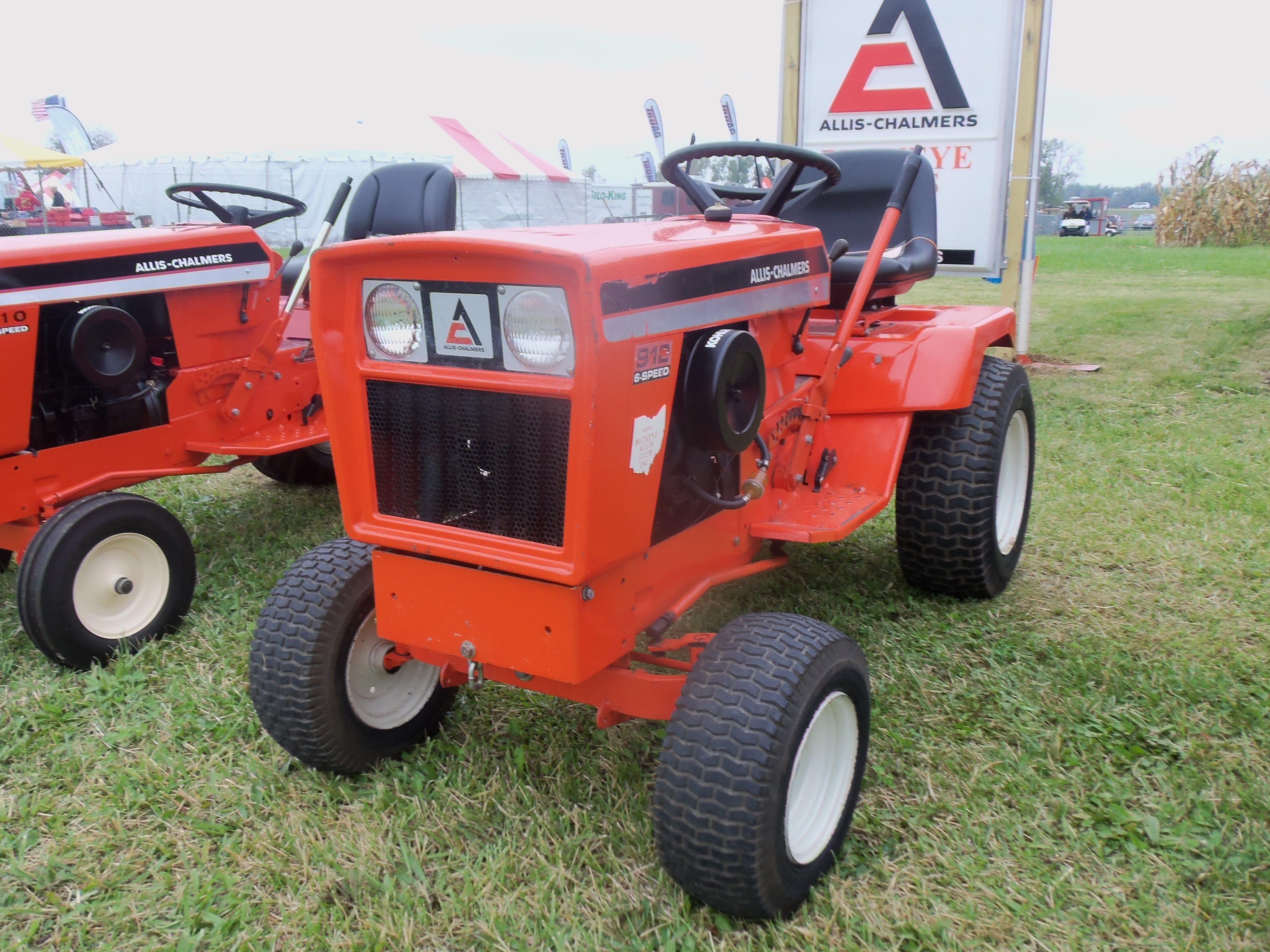 Allis Chalmers Garden Tractors : Allis chalmers pinterest tractor