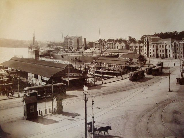 Circular Quay, Sydney, Australia Early 1900s In 2020 (With
