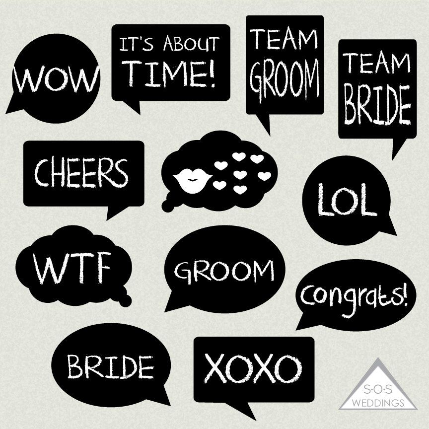 Word Bubble Photo Booth Signs Wedding Photobooth Signs Photo Etsy In 2020 Photo Booth Sign Diy Wedding Photo Booth Wedding Photobooth Sign