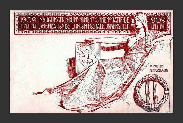 Switzerland 1909 Postal Union by mpt.1607, via Flickr