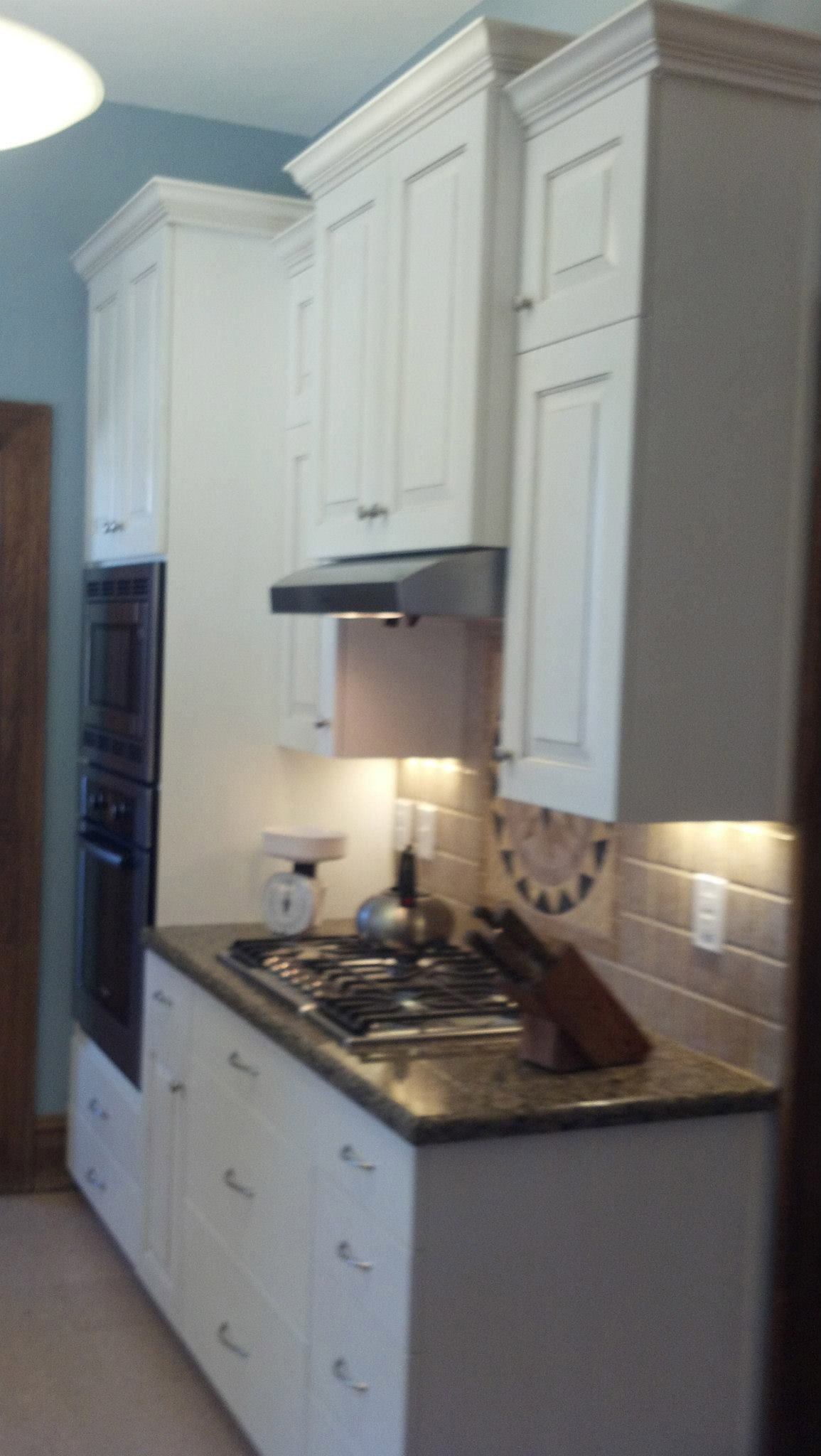 Stainless Steel Under Cabinet Proline Range Hood Install By Ivy League  Builders.