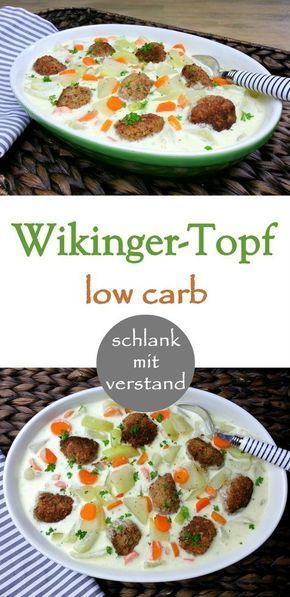 Wikinger-Topf low carb #kohlenhydratarmerezepte