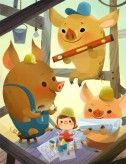 3 Little Pigs by Joey Chou | $40