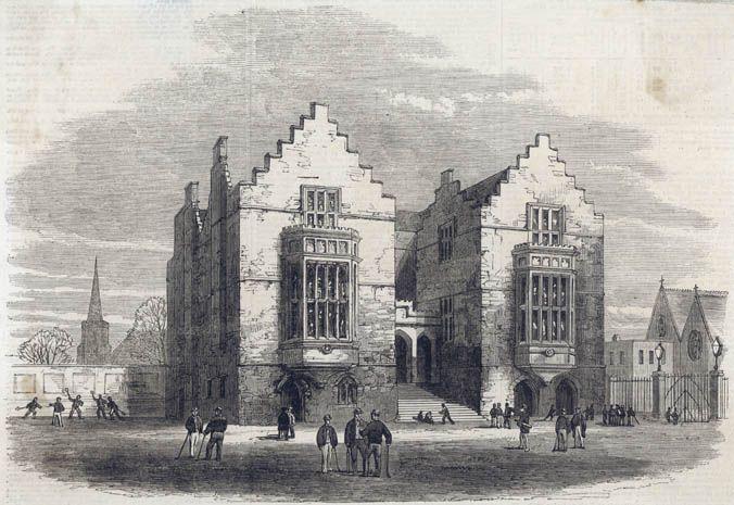 Harrow School In 1862 At Public Schools Like Harrow -2294