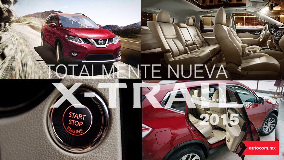 Tecnología intuitiva #New #Nissan #XTrail #2015 #Autocom