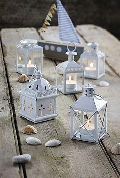 beachfavors Wedding Favors, Table Decor - Luminous Mini-Lanterns ...