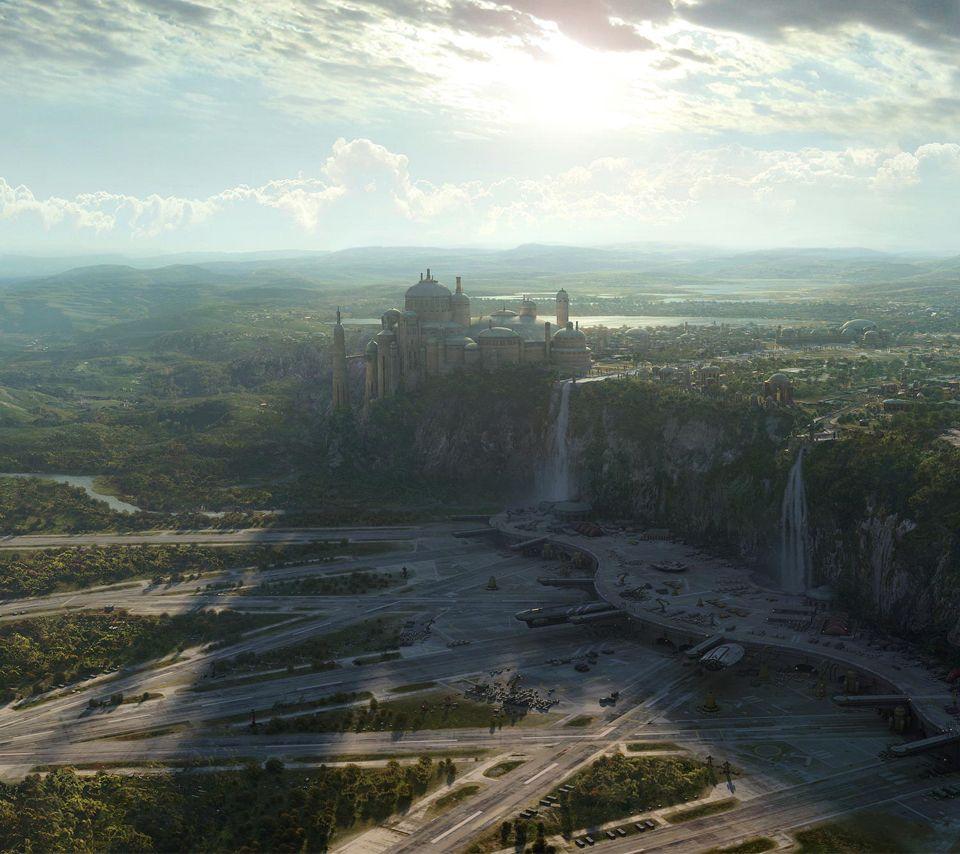Fantasy Landscape Wallpaper: Oh YESSS #cominforUNaboo #dreamVacay
