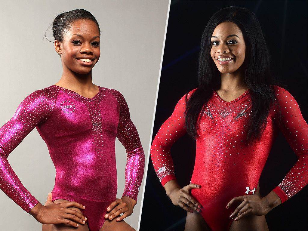 Olympic All Around Gold Medal Gymnasts Then And Now