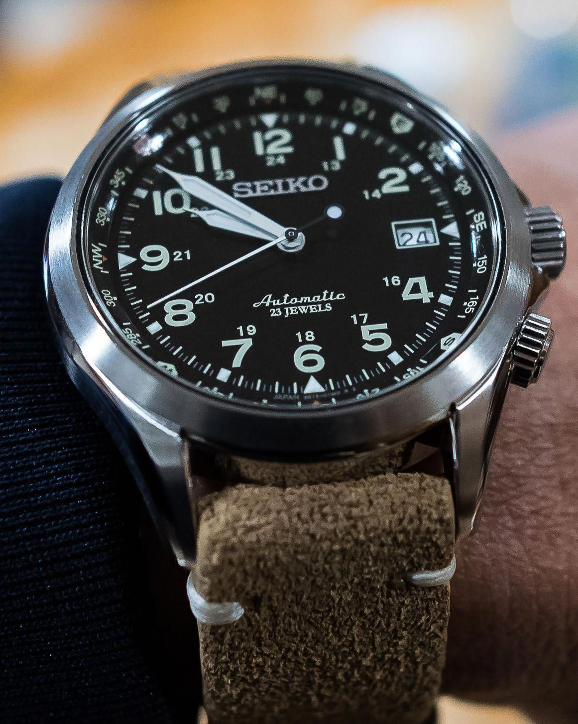 25087968749 SEIKO SARG007 6R15 FIELD WATCH  mostbeautifulwatches