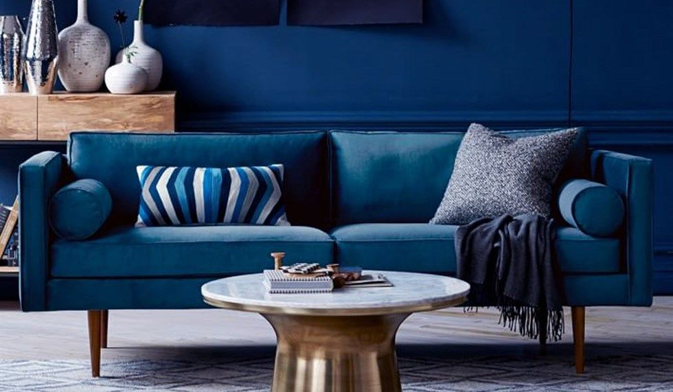 Divano Blu ~ Perché questo autunno devi avere un divano blu a casa divano blu