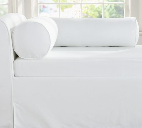 Lewis Bolster Pillow Covers Pottery Barn Home