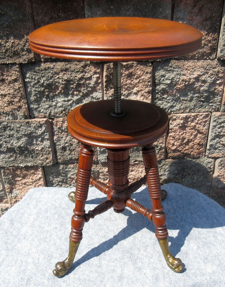 Piano Stool, Dolphins, Antique Furniture, Columbia, Benches, Ohio, Stools,  Vanities, Columbus Ohio - Pin By Bee Glazed On Picks4u Pinterest Piano Stool, Stools And
