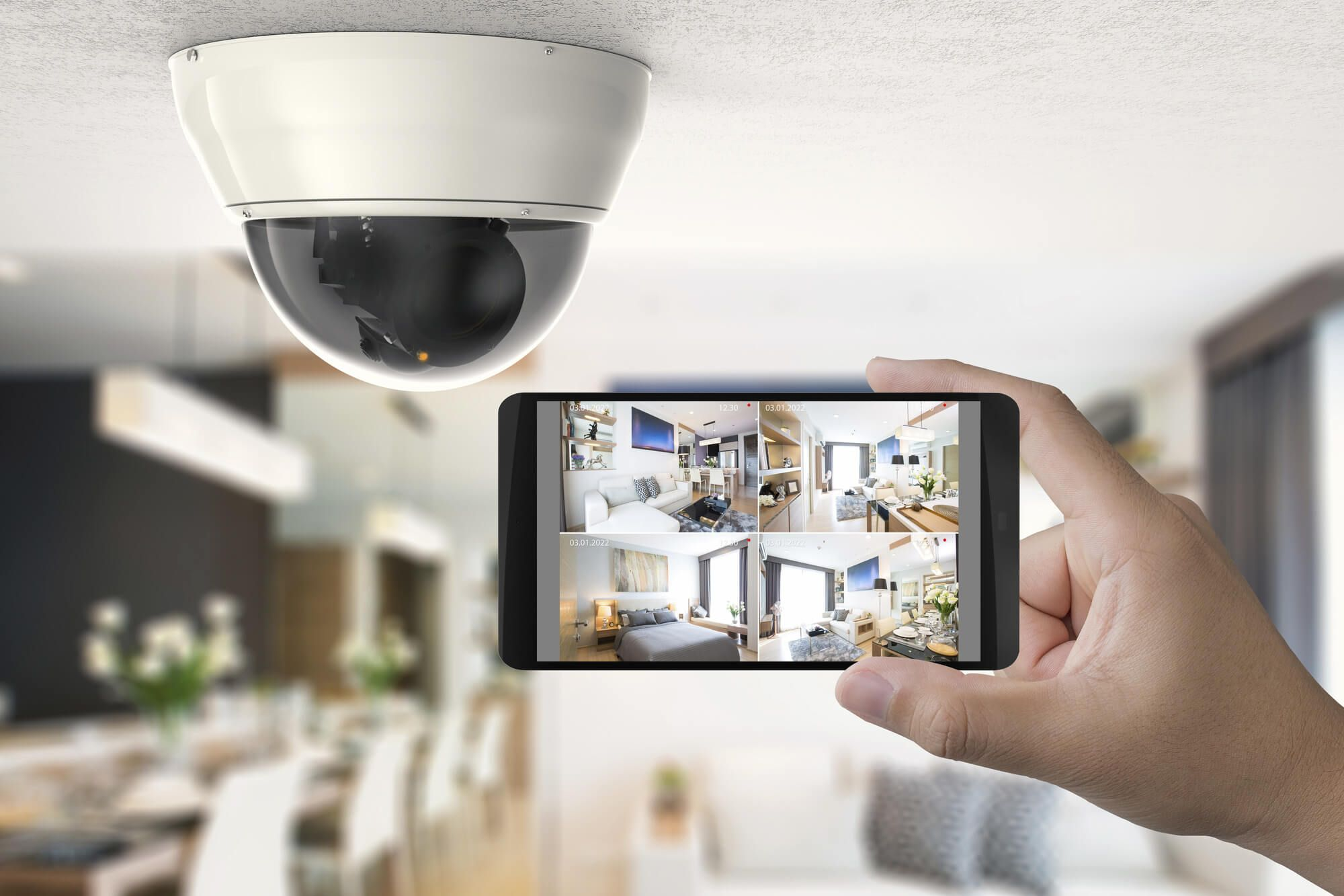 10 Simple Security Systems To Put In Place At Home Get That Right Home Security Tips Home Security Security Cameras For Home