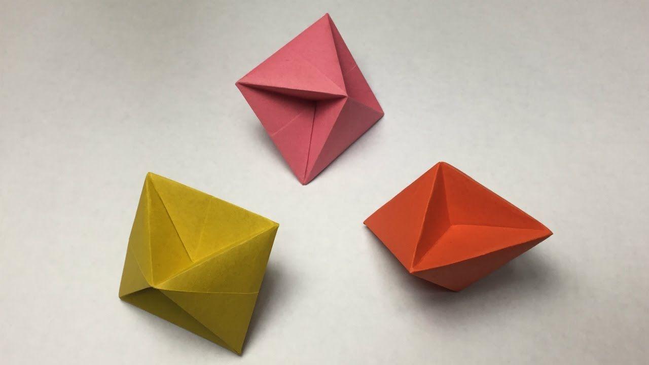 Beautiful Advanced origami One Sheet | Origami box, Origami ... | 720x1280