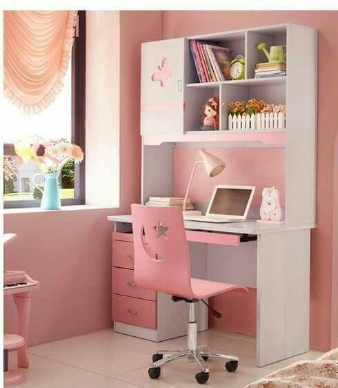 Pin de marli en pink for Muebles de escritorio para dormitorio