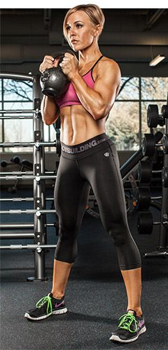 Grind To Grow: Try Your Squats And Presses With Kettlebells!   Ab & Core Workouts   Culturismo ...