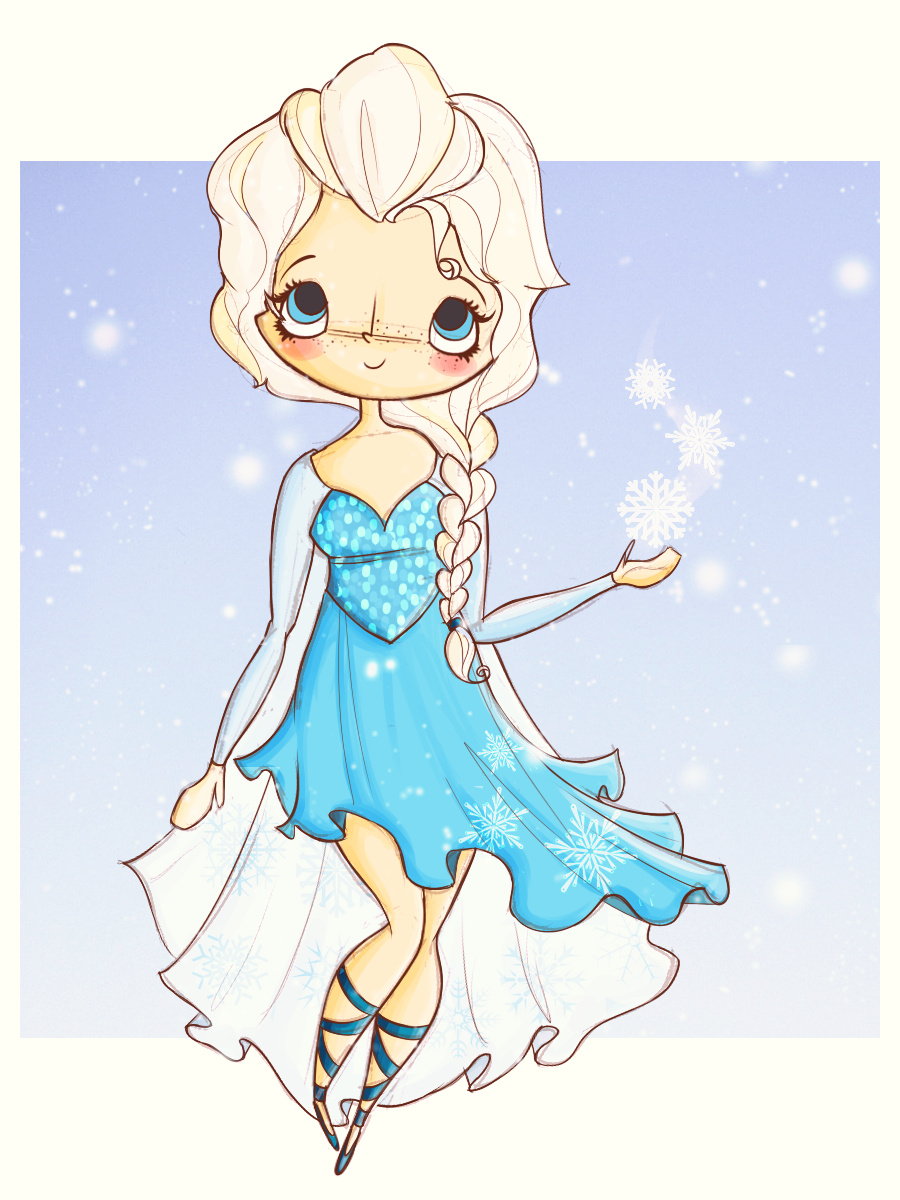 Let it go by agusmp.deviantart.com - Elsa, Frozen