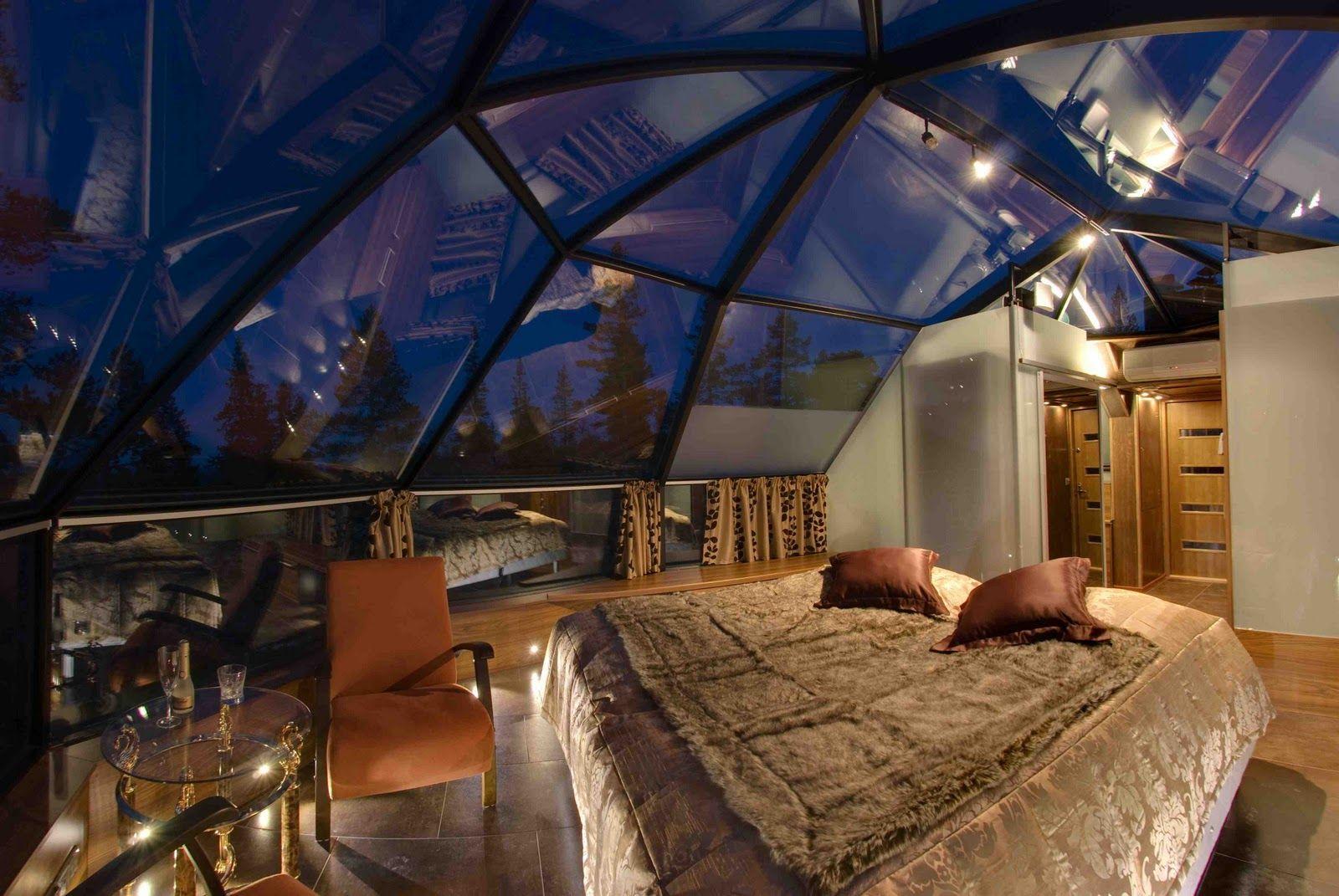 Отель в финляндии с прозрачной крышей фото основном составе