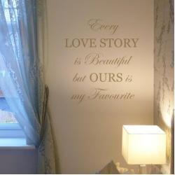 Wandtattoo Every Love Story is BeautifulWayfair.de #organichaircare