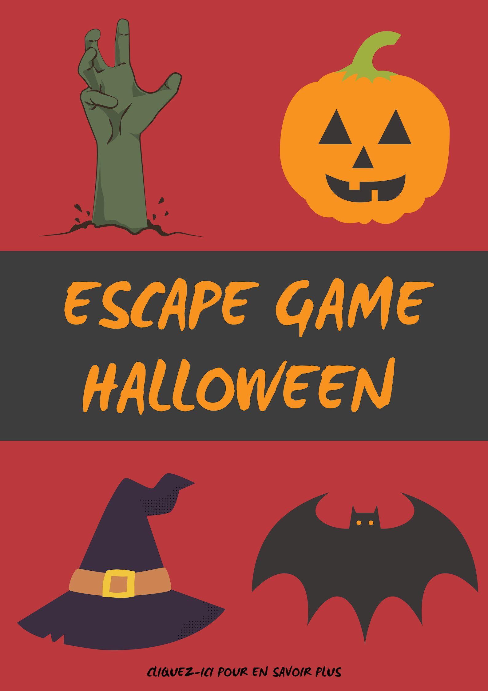 Escape Game sur le thème de Halloween !! Escapekit kit