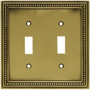 View the Liberty Hardware 64771 Beaded Series Double Wall Plate at Build.com.