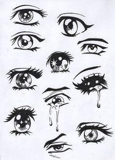 Drawing Drawings Easy Anime Eyes Anime Drawings