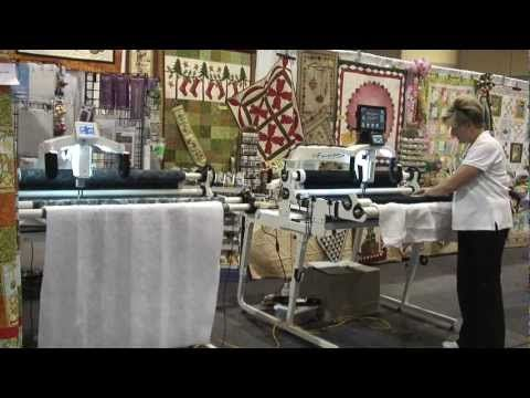 Kelly Corfe from the The Quilting Bee Quilt Shop shared an overview of the HQ18 Avante from the Creativ Festival.