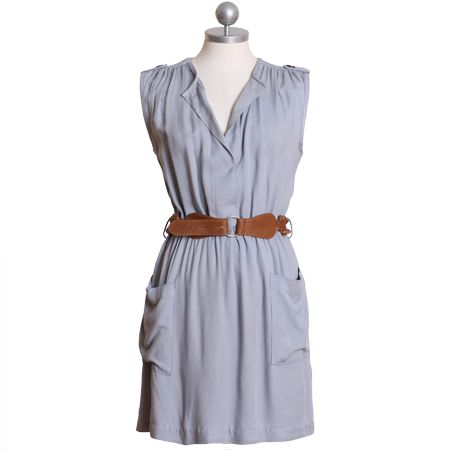 singin' the blues belted dress $38.99