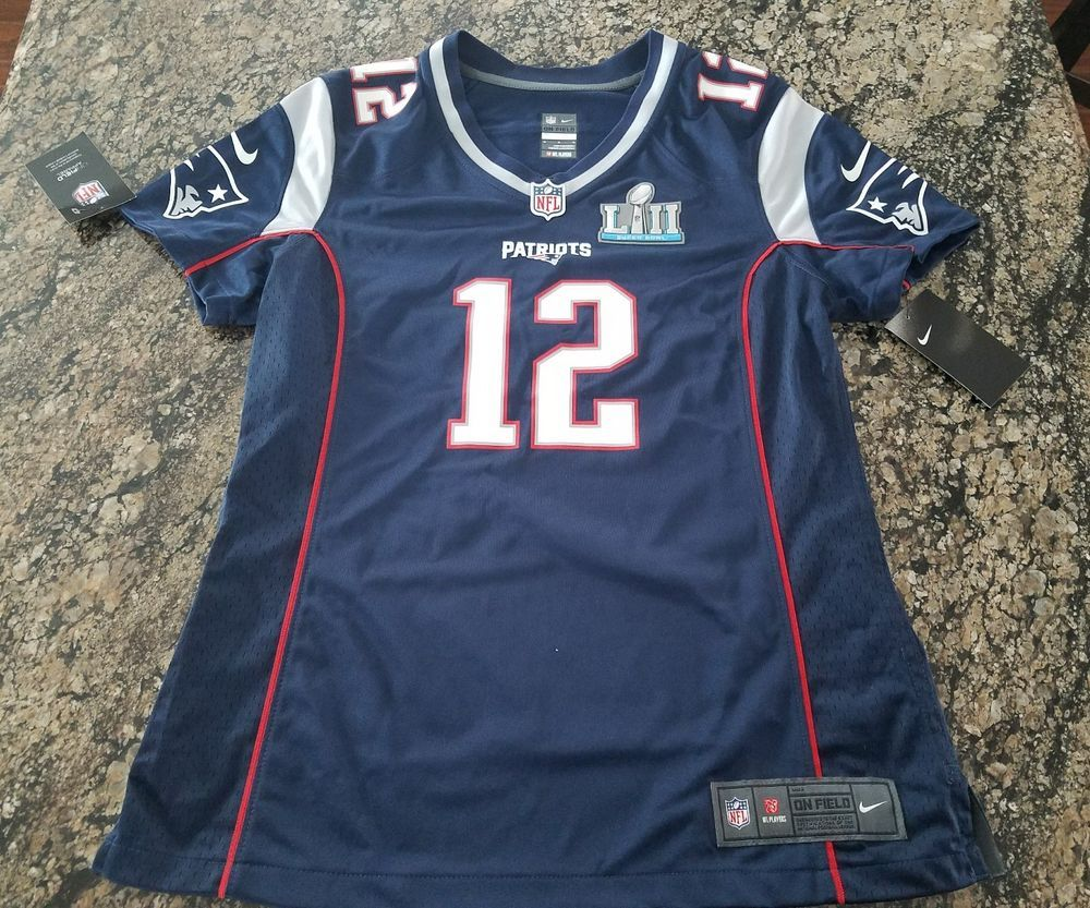 the latest 9b94f 74313 Nike Tom Brady NFL New England Patriots Jersey Super Bowl 52 ...
