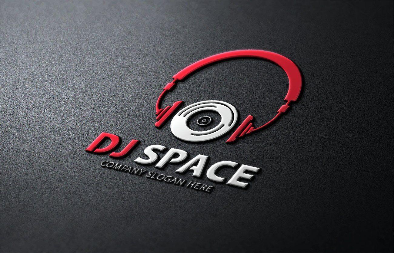 Dj Space Logo Dj Logo Creative Branding Design Dj