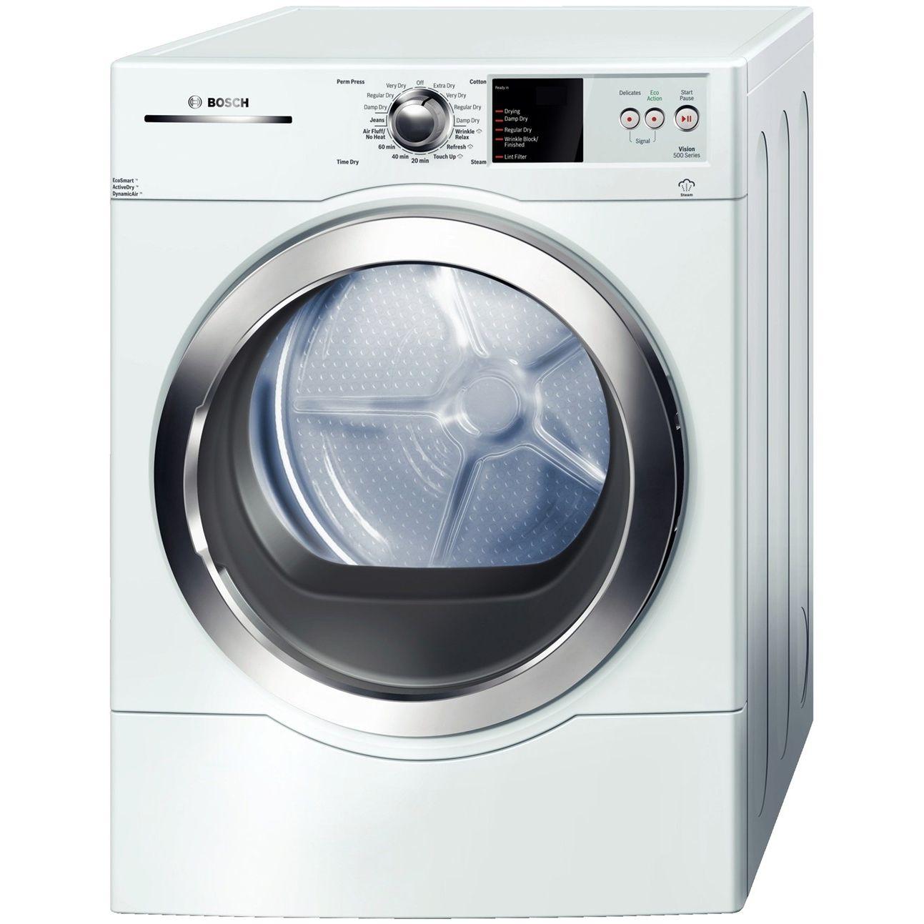 Bosch WTVC6530UC 500 Series Gas Dryer