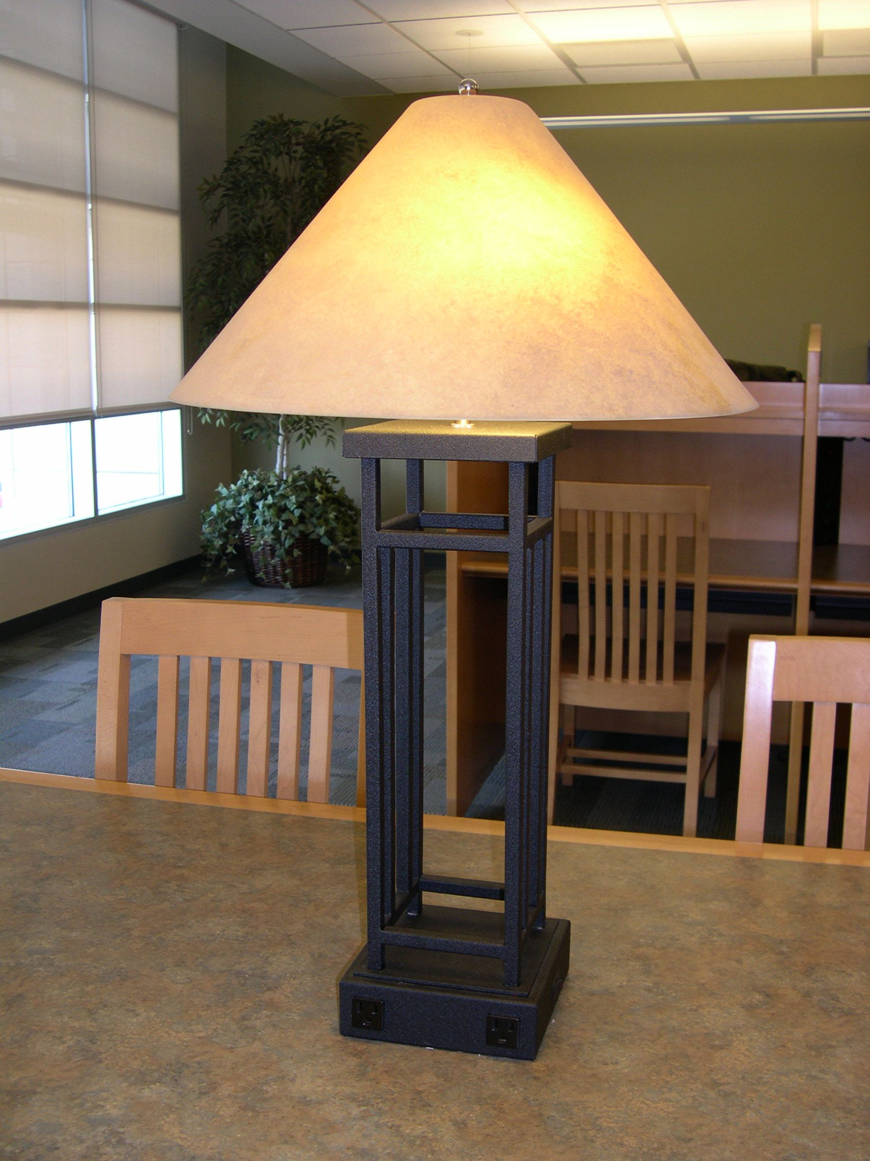 Table Lamp From Mt San Jacinto College Lighten Up Your