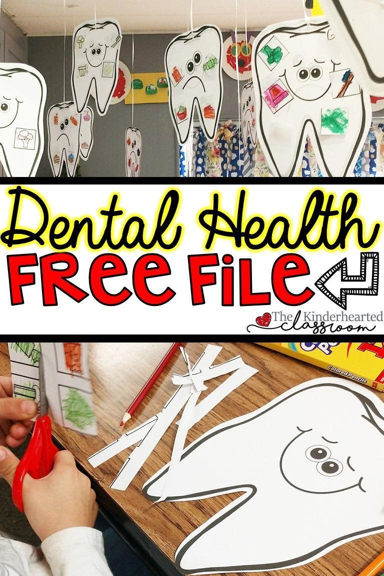 Dental Health FREEBIE – Sehen Sie sich diesen Stundenplan und die kostenlose Datei über Zahngesundheit an …   – all about me