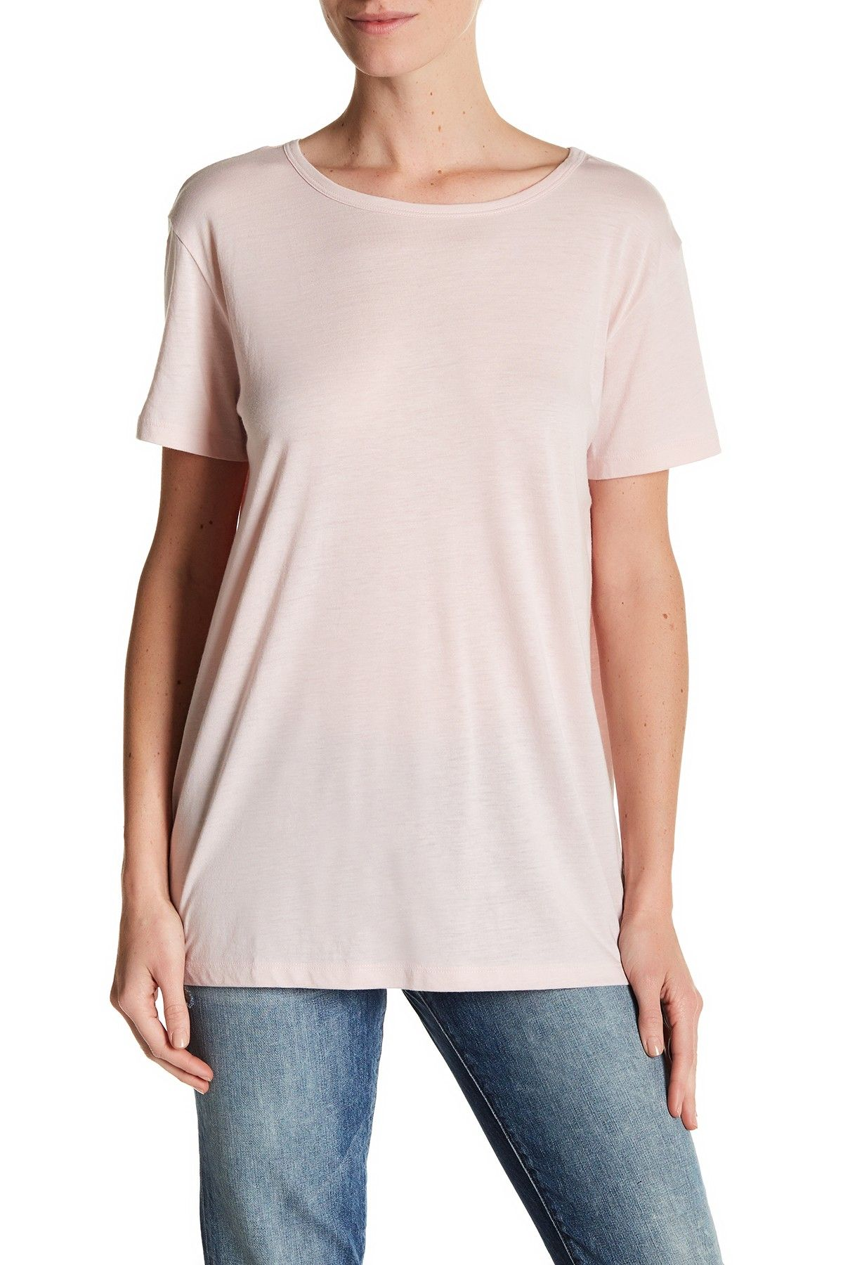 Open Back Featherweight Jersey Tee