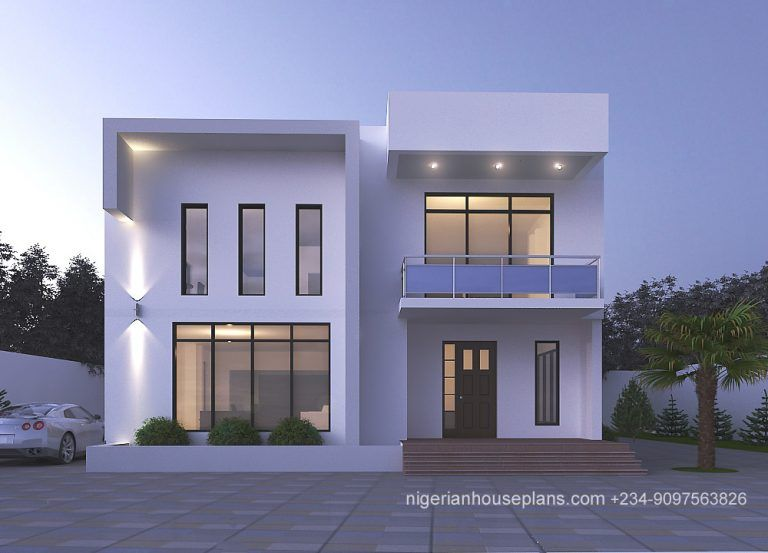 4 Bedroom Duplex Ref 4039 Small House Floor Plans House