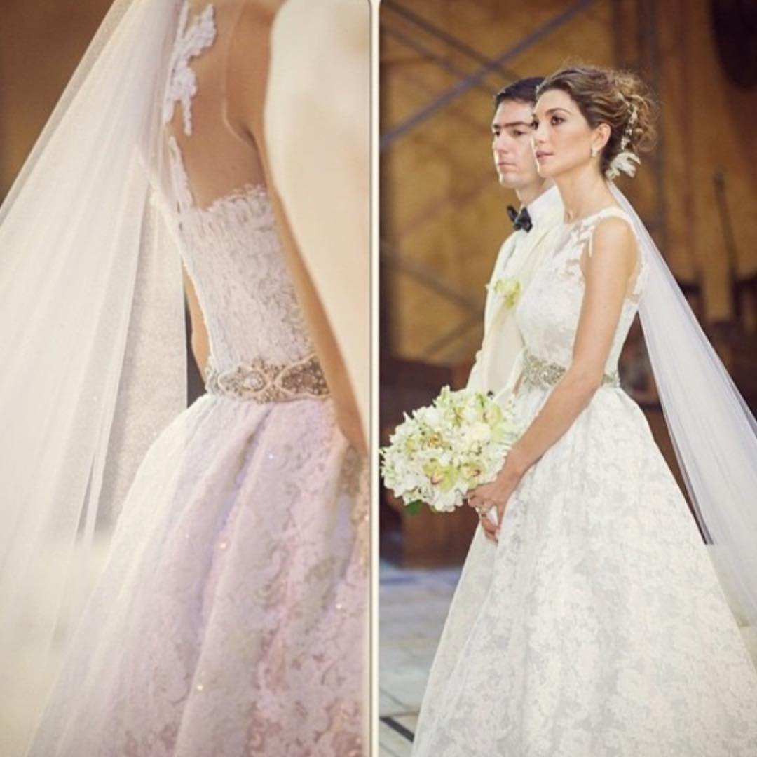 Forks&Brides — Ruby radiant in her @silviatcherassi #gown !...