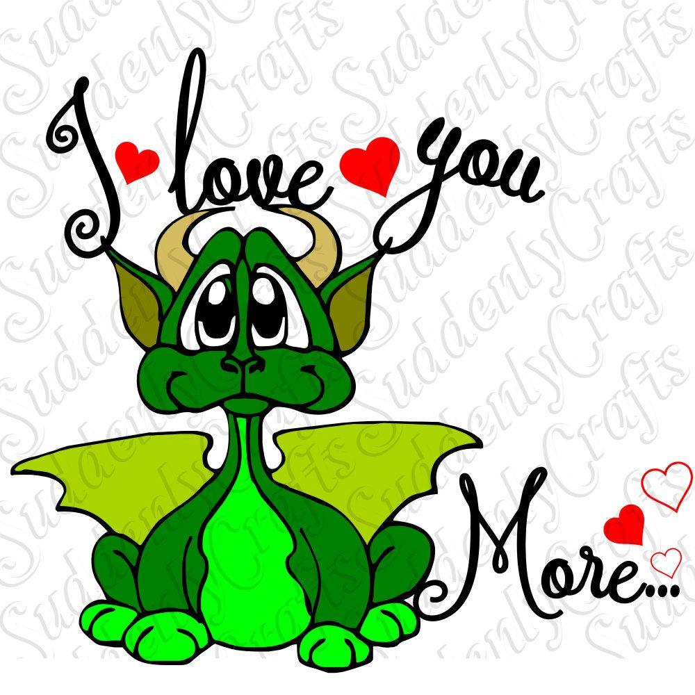 Download I Love You Dragon SVG by SuddenlyCrafts on Etsy   Mom etsy ...