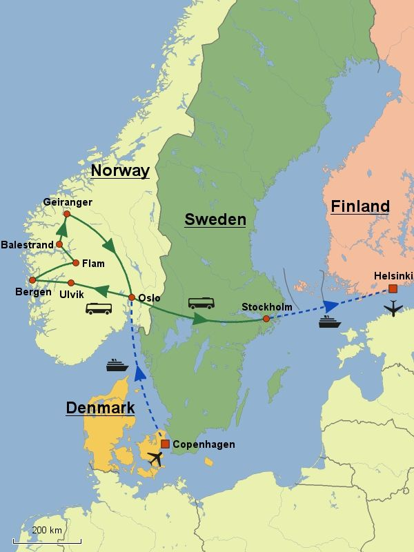 Grand Tour Of Scandinavia Scanam World Tours Grand Tour Scandinavia American Tours
