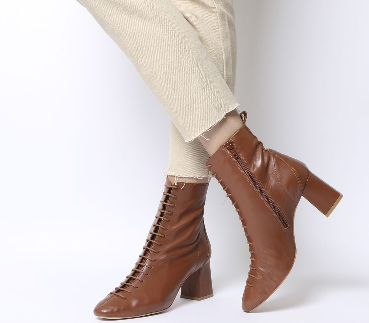 6c612b1bf99 Aloha- Lace Up Mid Block Boots | Accessories galore! All Styles ...