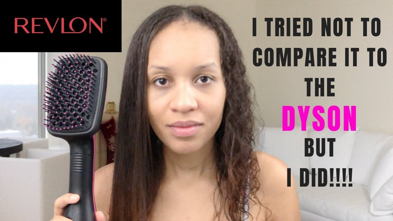 Revlon One Step Hair Dryer And Styler Compared To Dyson Airwrap Styler Curly Hair Styles Naturally Revlon Hair Tools