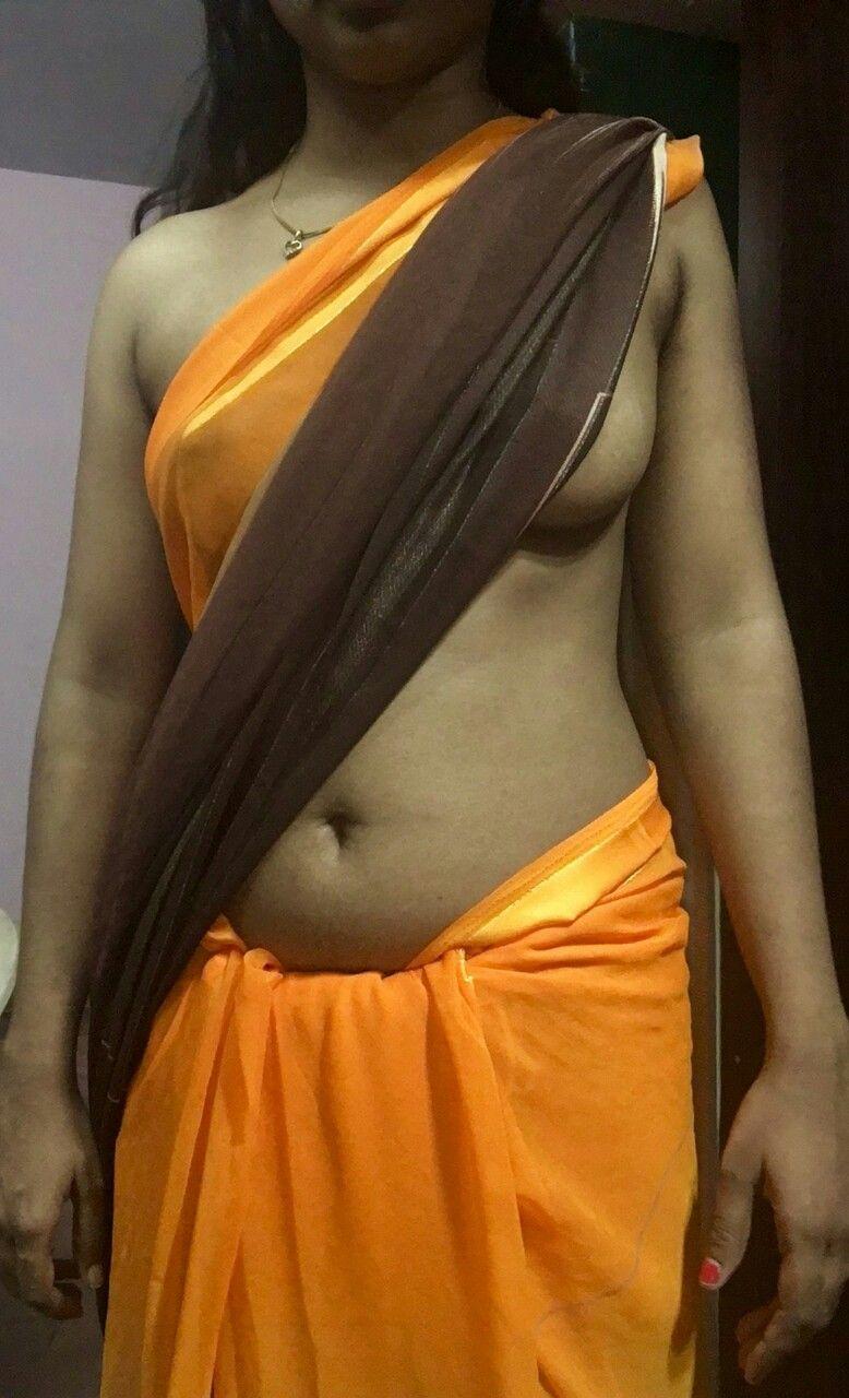 Think, that orange saree aunty nude entertaining answer
