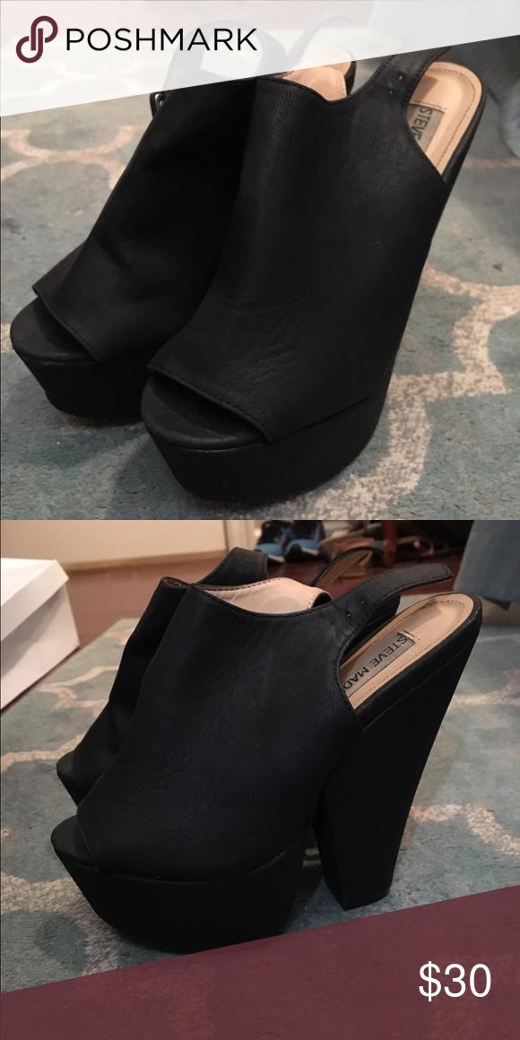 37076859726 Chunky Steve Madden heel Very cute chunky heel! Worn a handful of times Steve  Madden