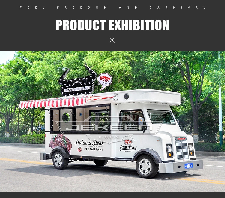 Hot Item Jekeen Electric Food Truck With Snack Machine Suege Snack Machine Food Truck Electric Foods