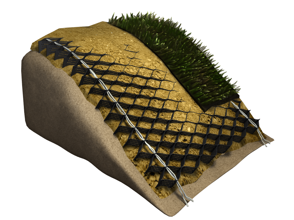 Envirogrid How To Prevent Soil Erosion On A Slope