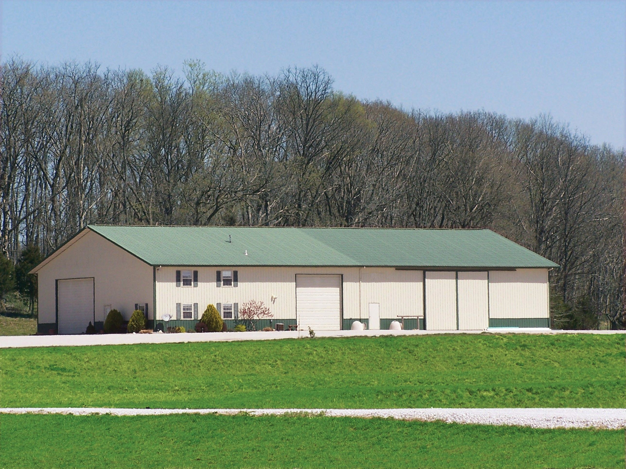 Industrial metal buildings residential steel buildings Steel building with living quarters