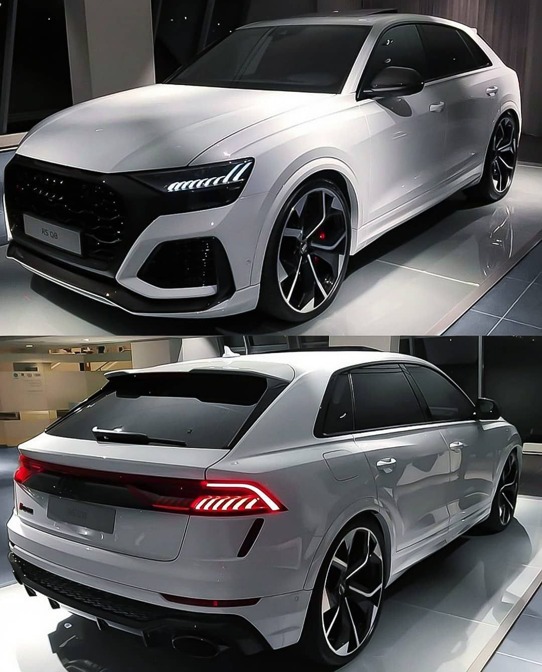 """Photo of Audi Q8 on Instagram: """"RSQ8 💥 _____________________________ Our Pages @fourrings_nation & @s8_nation  _____________________________ . . Edit by @q8_nation . . Tag…"""""""