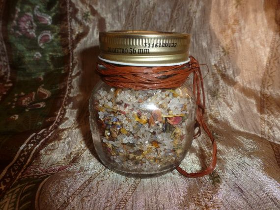 Earth Essence Healing  Herbal Bath Salt Blend