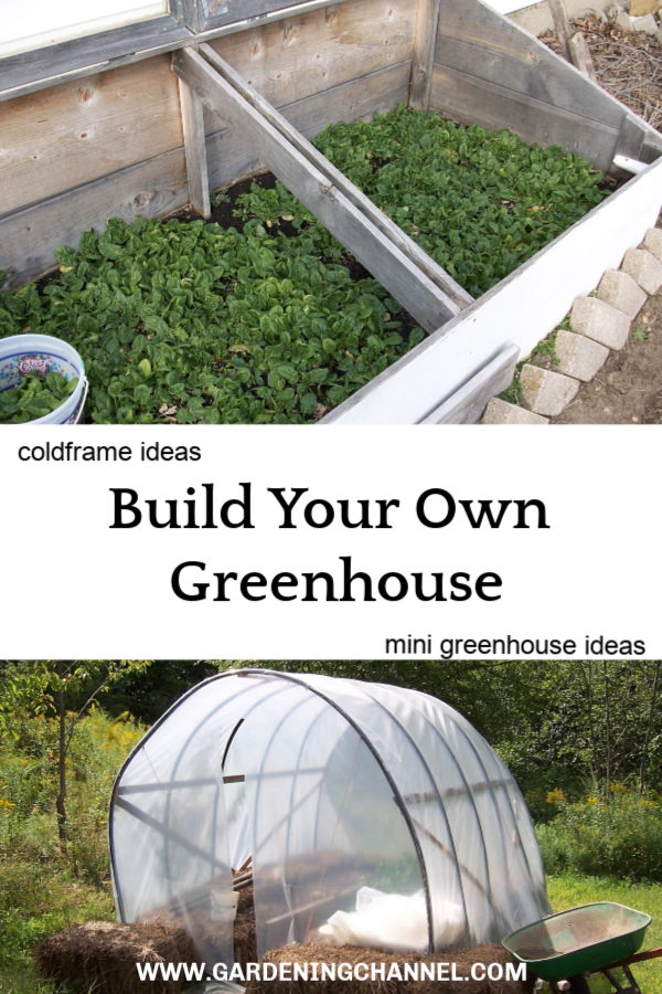 Make a mini greenhouse: DIY coldframe ideas | DIY Gardening Ideas ...